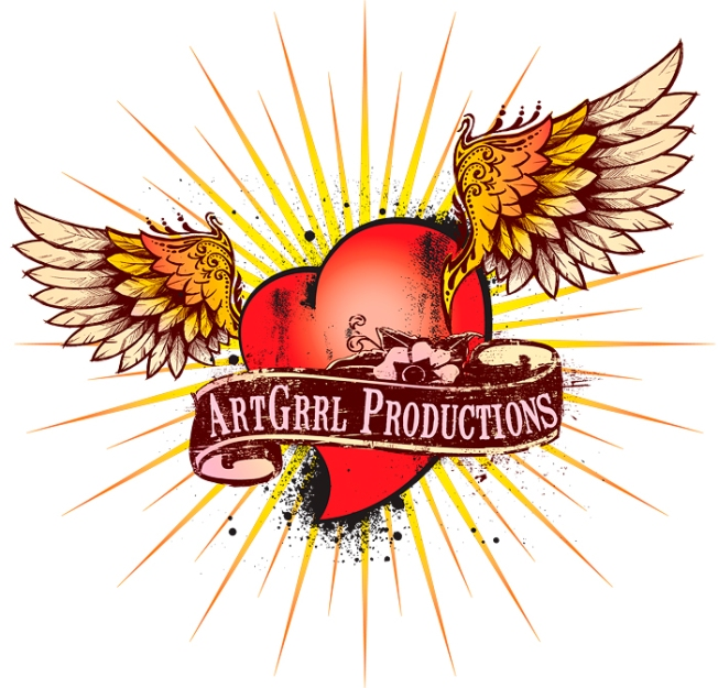 ArtGrrl Productions logo