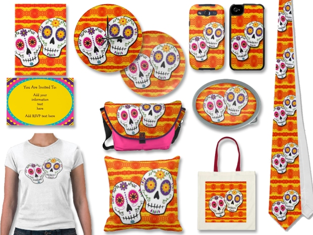 sugar skulls by tammy wetzel