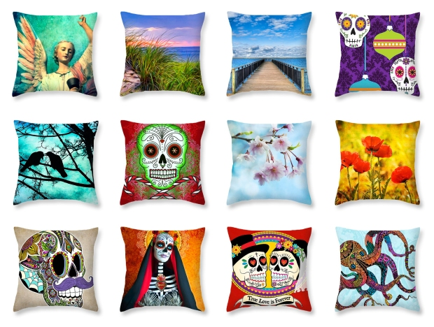 Throw Pillows designed by Tammy Wetzel